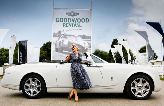 Phantom Drophead Coupe at the 2013 Goodwood Revival.