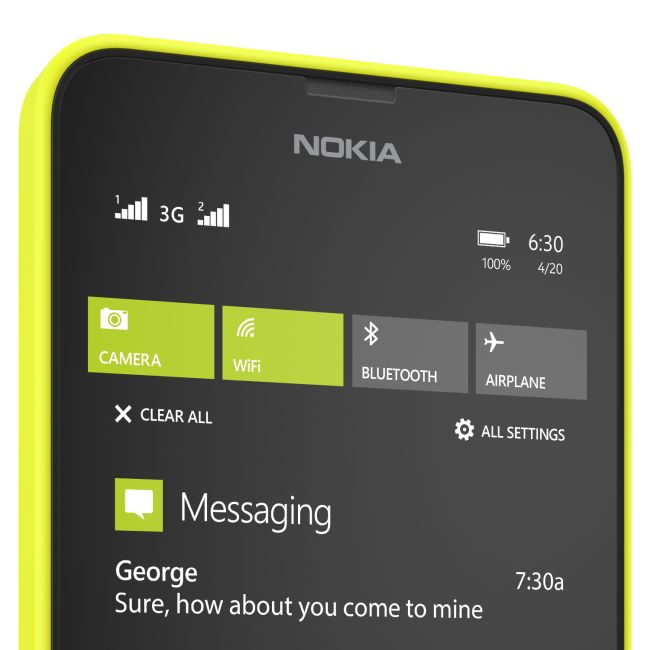 Microsoft launches dual-SIM Nokia Lumia 630 at Rs 11,500