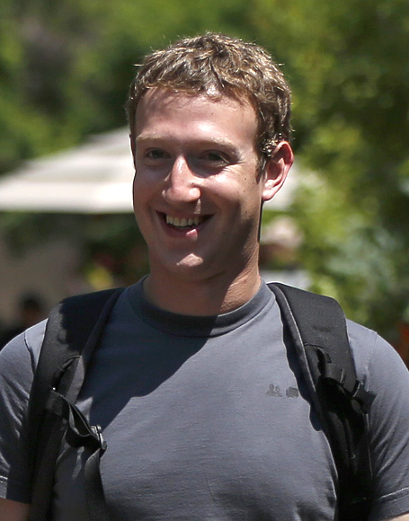 Facebook CEO Mark Zuckerberg attends the Allen & Co Media Conference in Sun Valley.
