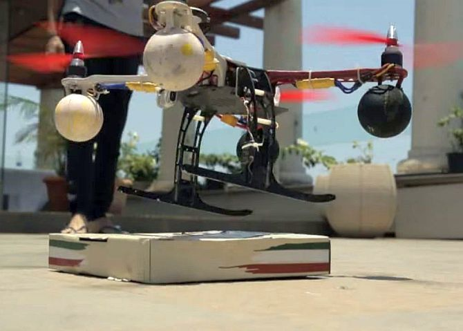 With draft rules India closer to delivery by drones