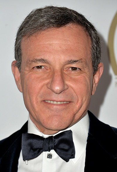Walt Disney Company Chairman and CEO Bob Iger attends the 25th annual Producers Guild of America Awards at The Beverly Hilton Hotel.