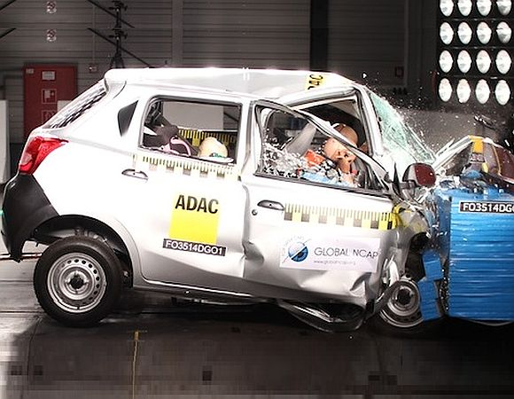 Maruti Swift, Datsun GO score 'zero' in safety test