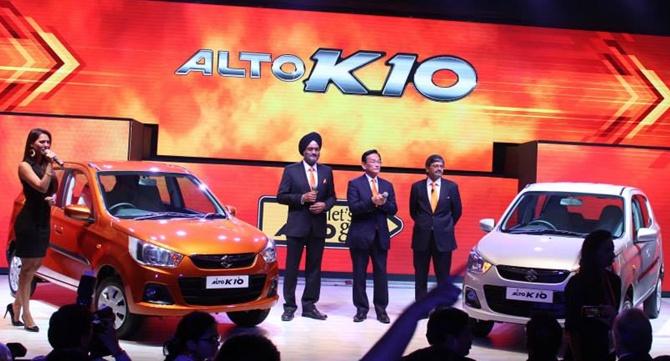 New Alto K10: India's cheapest automatic car - Rediff com