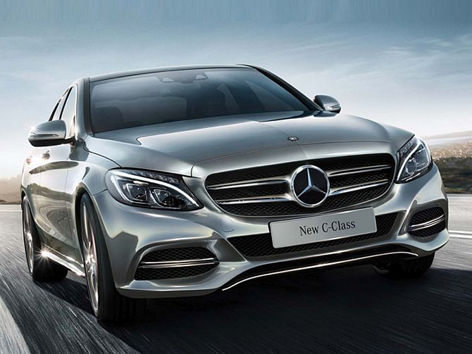 new car launches planned in indiaMercedes launches new CClass at Rs 409 lakh  Rediffcom