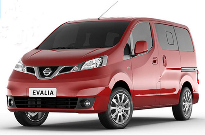 Nissan rolls out premium version of Evalia