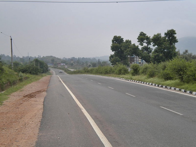 Image A View Of NH 8 In Rajasthan Photograph Vssun Wikimedia Commons