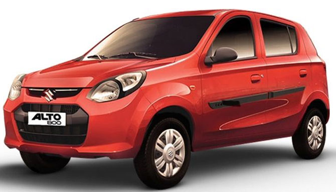 The highest selling cars in India; Maruti tops