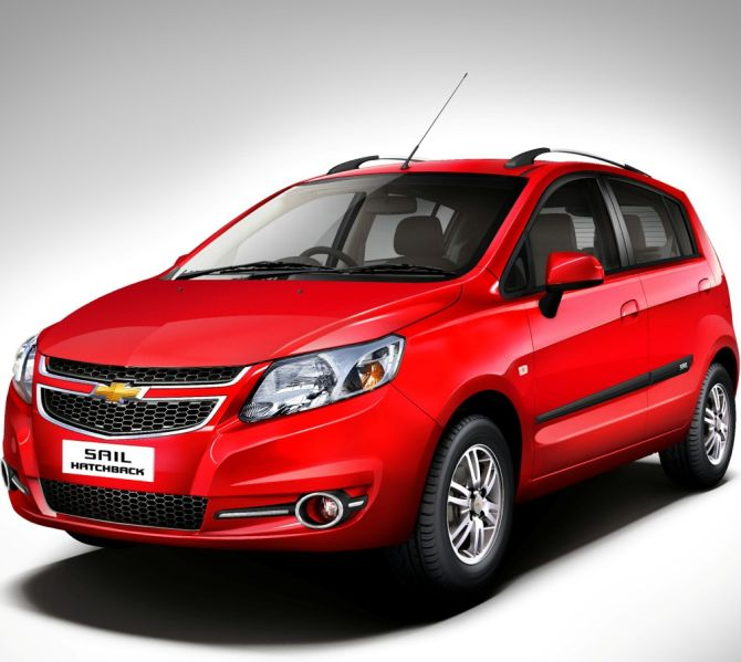 General Motors launches new Chevrolet Sail sedan and hatchback