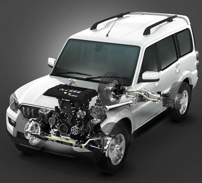 Mahindra Launches All New Scorpio At Rs 7 98 Lakh Rediff Com Business