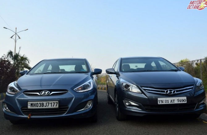 Verna 4S: A premium sedan with cool features