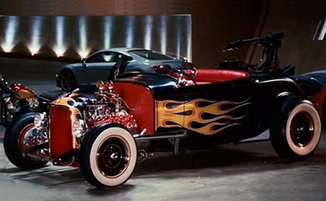Tony Stark Garage Design