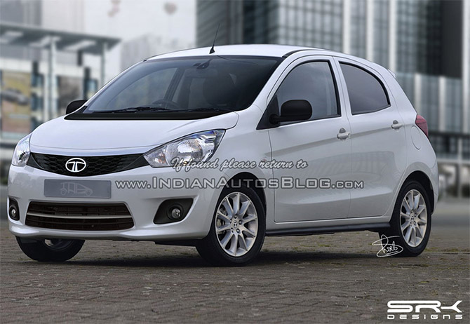 A sneak peak into the Tata hatchback, Kite