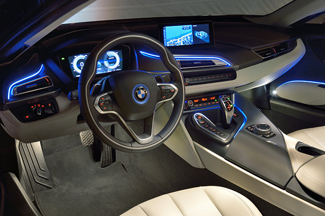 5 Things To Know About The Stunning Bmw I8 Supercar Rediff Com