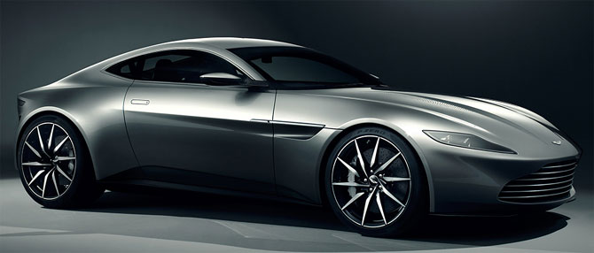 Stunning cars in James Bond's new movie