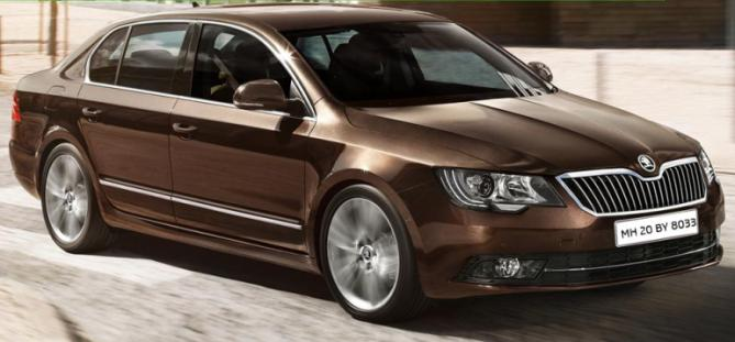 Skoda drives in 3rd generation Superb sedan