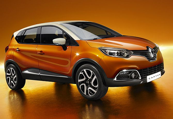 Renault's 'Captur' to take on Ford EcoSport, Maruti XA Alpha