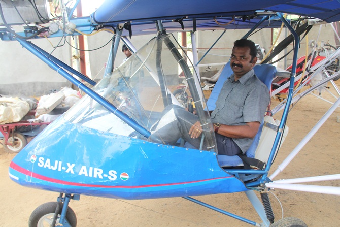 How Saji Thomas, a deaf-mute, built an aircraft with just Rs
