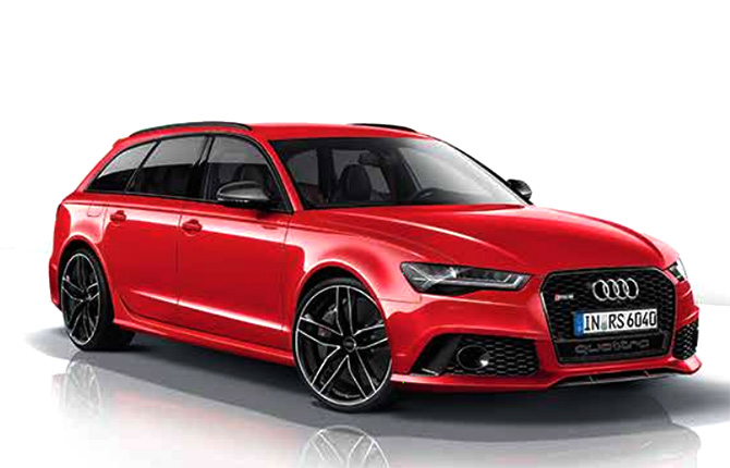 Audi launches super sports car RS6 Avant at Rs 1.35 cr