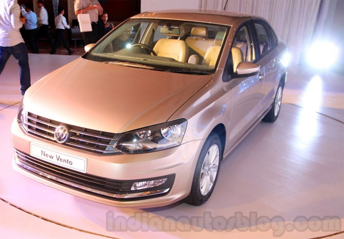 Volkswagen Vento facelift launched at Rs 785,000