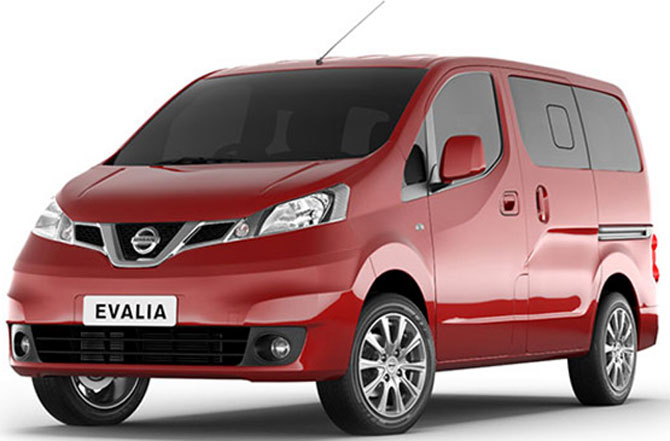 Nissan puts brakes on Evalia production