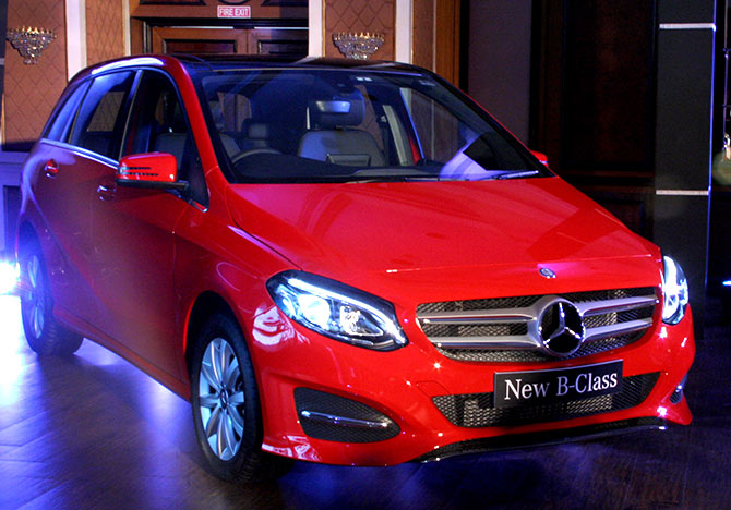 Mercedes-Benz unveils new B Class at Rs 27.95 lakh