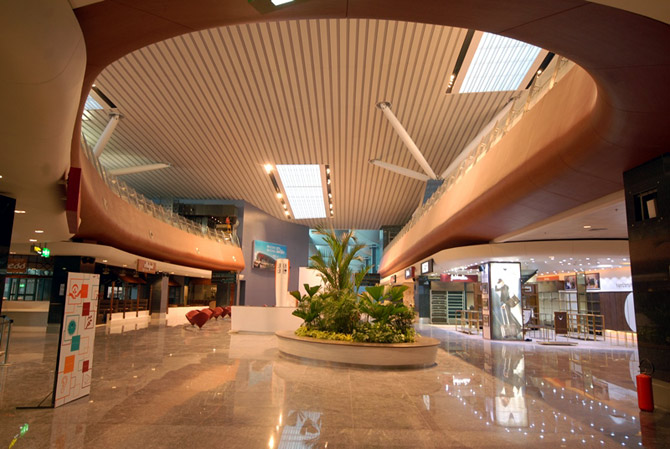 The Bengaluru airport
