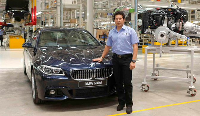 When Sachin built a BMW!