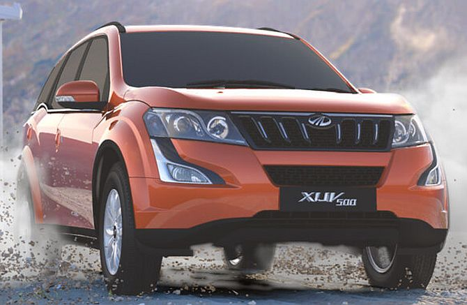 M & M drives in 'new-age' XUV500 at Rs 11.21 lakh