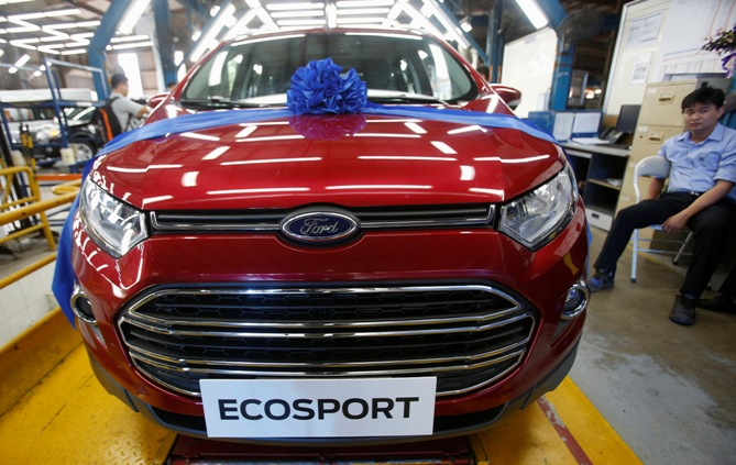 Ford India recalls 16,444 units of EcoSport