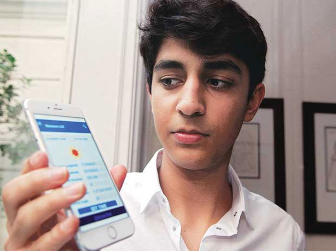 17 Year Old Designs New Gen Apps For Solar Power Rediff