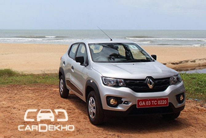 Renault Kwid, an exciting car priced less than Maruti 800!