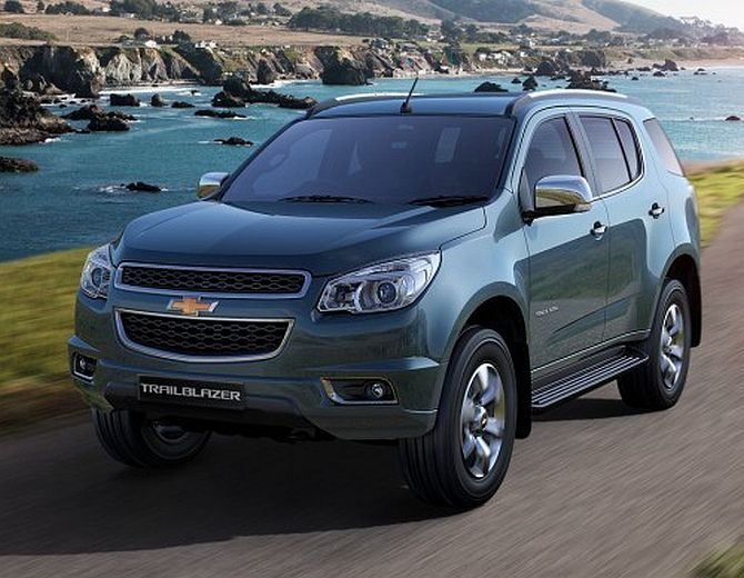 General Motors launches SUV Trailblazer at Rs 26.40 lakh
