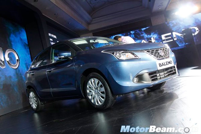 Maruti rolls out premium hatchback Baleno at Rs 4.99 lakh
