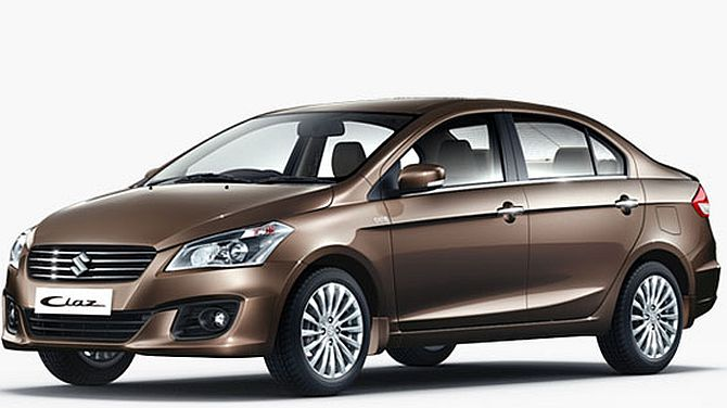 Maruti launches hybrid Ciaz @ Rs 8.23 lakh, to take on Toyota Camry