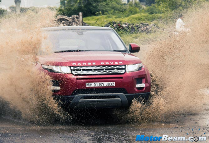 At Rs 59.82 lakh, Range Rover Evoque is an amazing off-roader