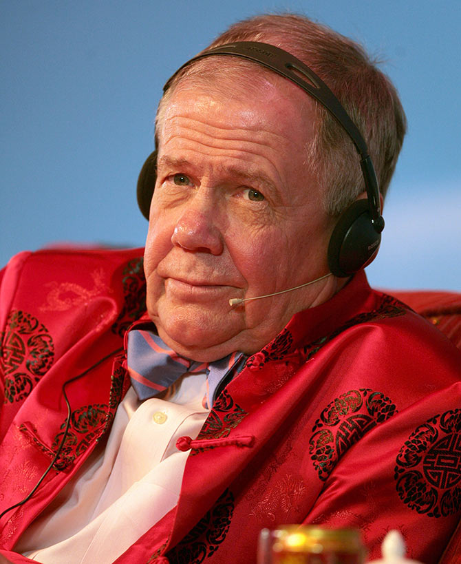 Jim Rogers in Nanjing, China.