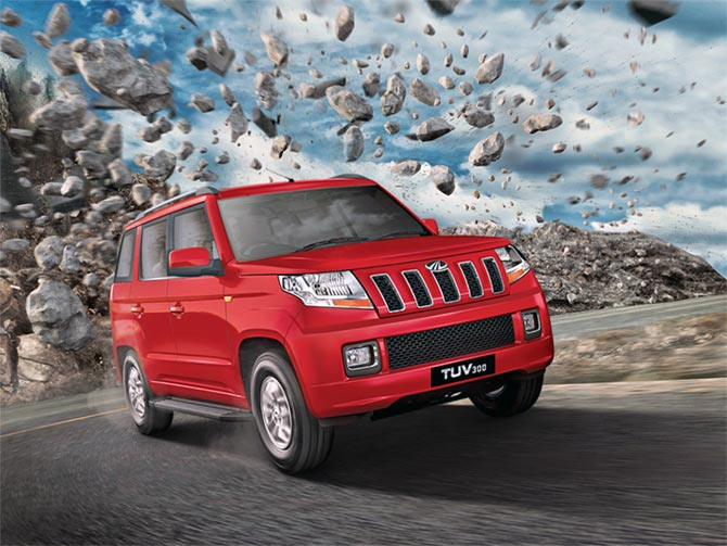 M & M launches TUV300 at Rs 6.9 lakh