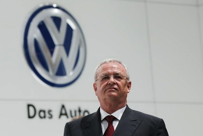 Volkswagen boss quits over diesel emissions scandal