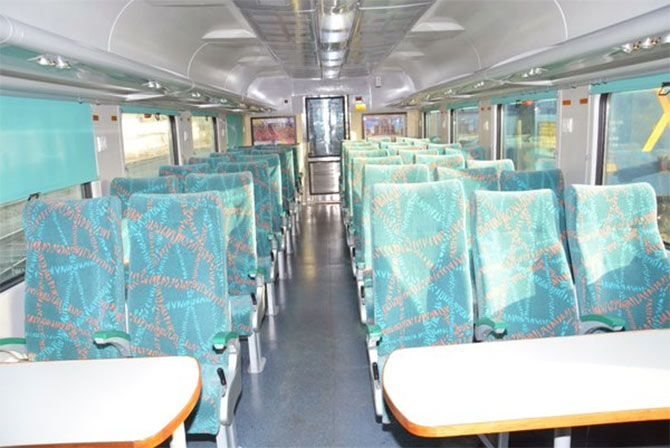 A ticket for the chair car costs Rs 750