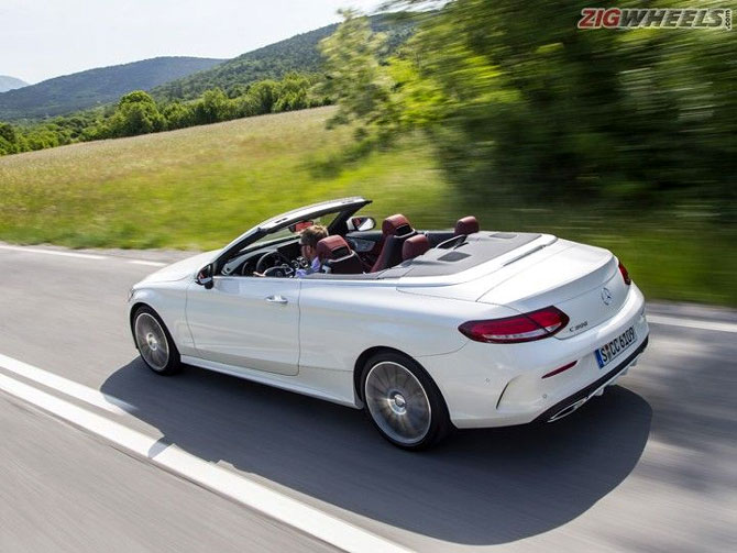 Mercedes-Benz C-Class Convertible: Neighbour's envy, owner's pride
