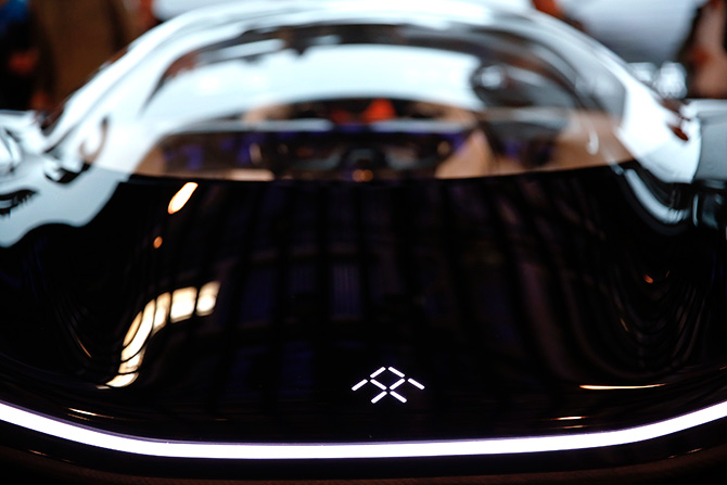 Faraday Future FFZERO1 electric concept car