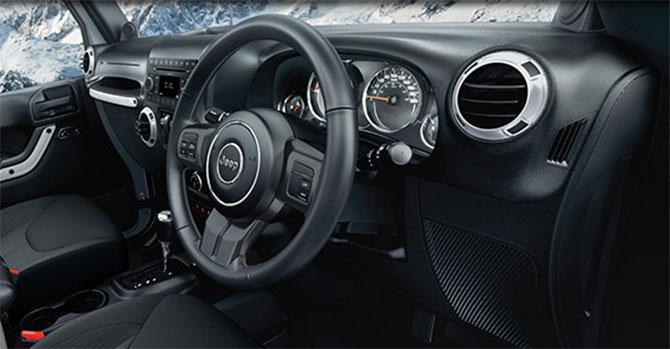 Fiat Debuts Jeep Wrangler Cherokee Models In India Rediff Com