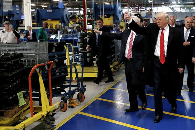 Trump at Carrier