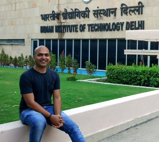 At the Indian Institute of Technology, New Delhi