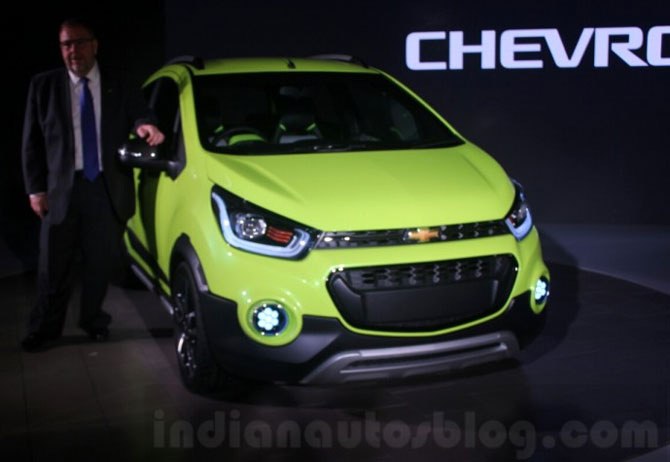 Chevrolet Beat Activ concept launched!