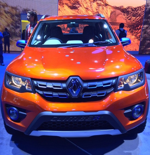 Renault dazzles with Kwid Climber, Racer