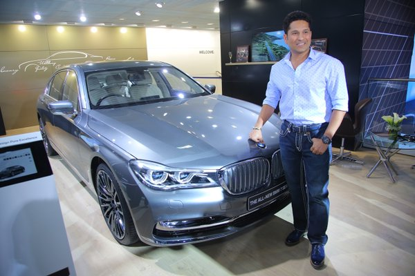 Made in India! Sachin Tendulkar launches BMW 7 series, X1