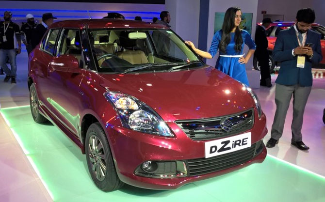 Maruti Swift Dzire now with automatic gear shift