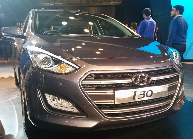 i30, i20:  Hyundai unveils its star performers