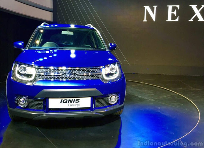 A smart car called Ignis from Maruti!